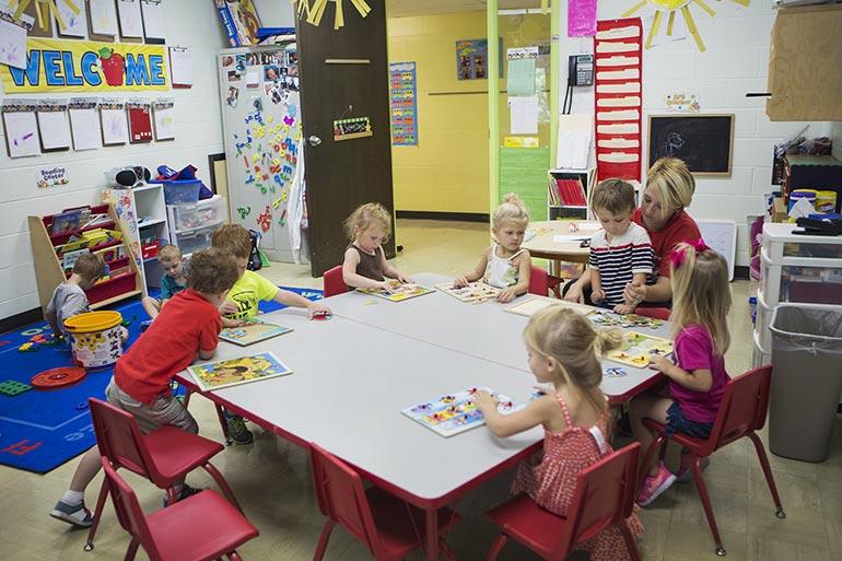 God's Kids Preschool - Classroom
