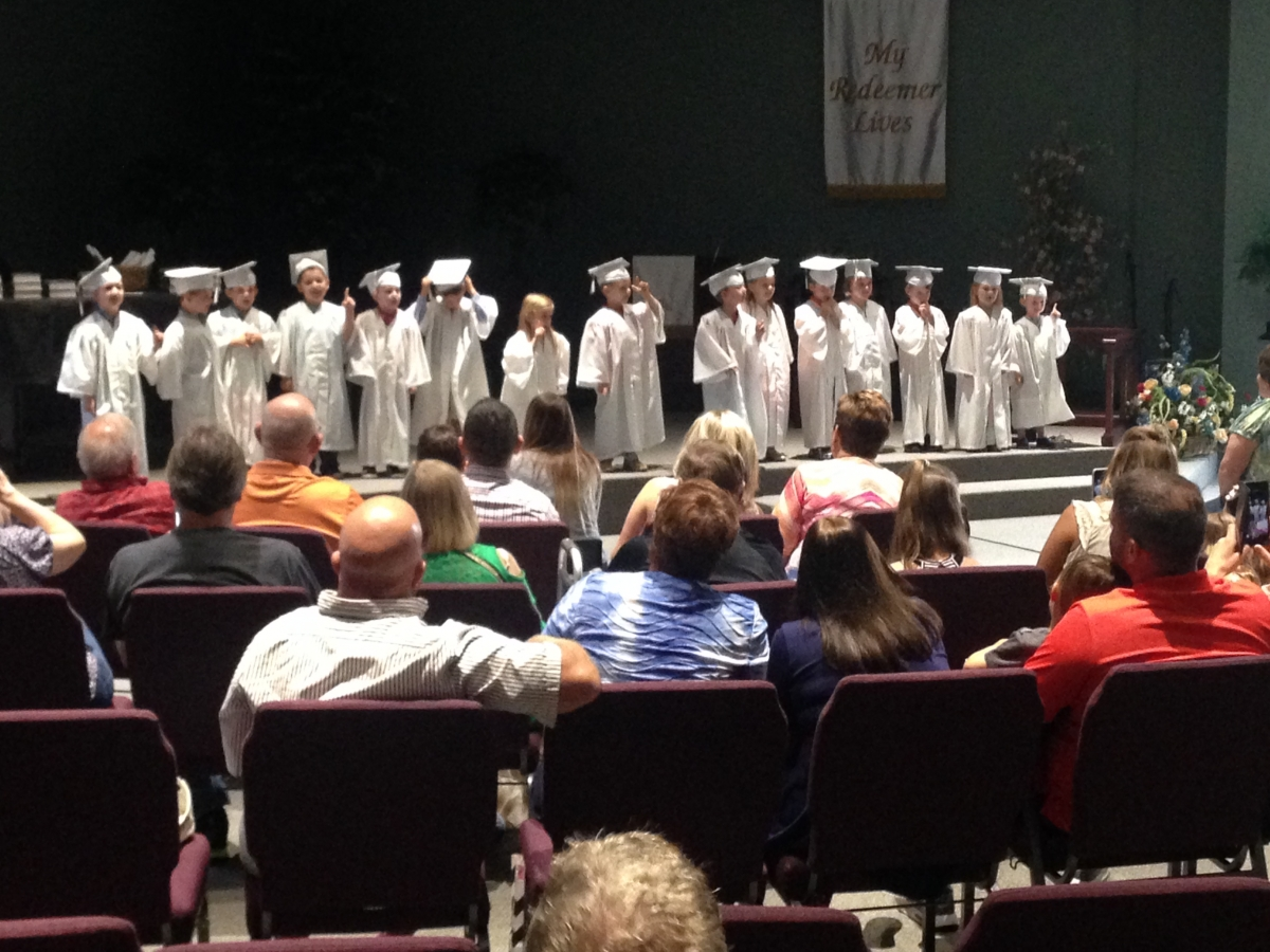 Pre K Graduation Class of 2017